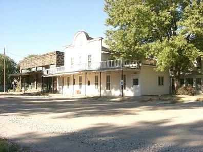 Brookville Kansas Site Of The Original Hotel