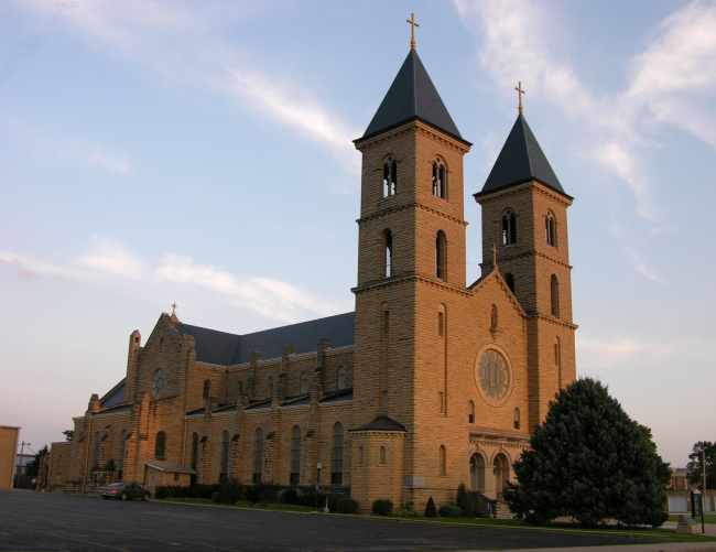 The Cathedral of the Plains - St. Fidelis Church