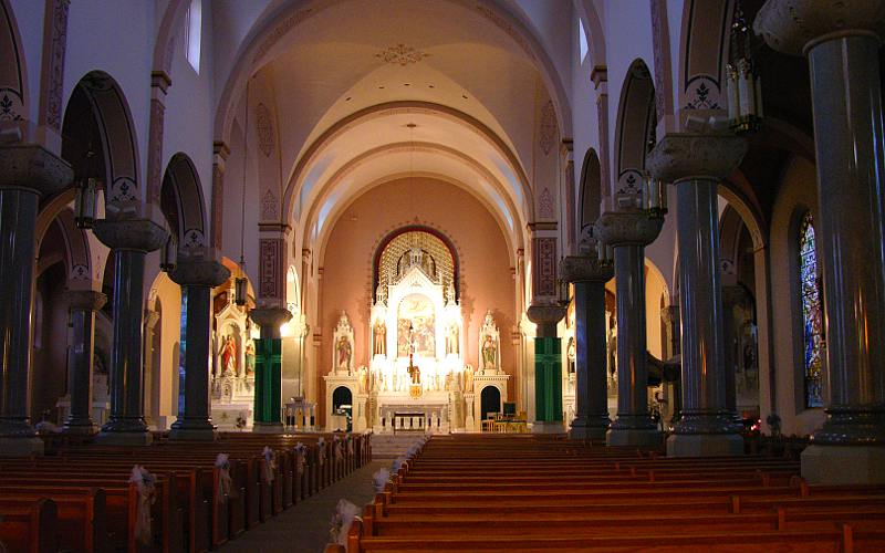 interior of Cathedral of the Plains