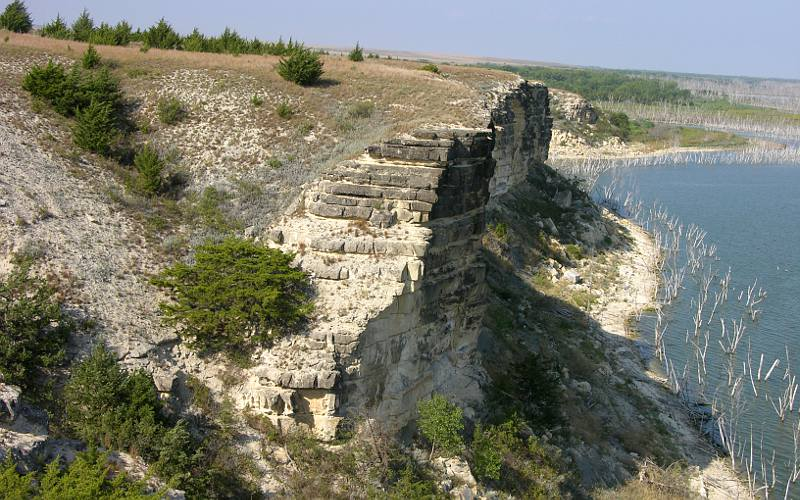 Cedar Bluffs in Kansas