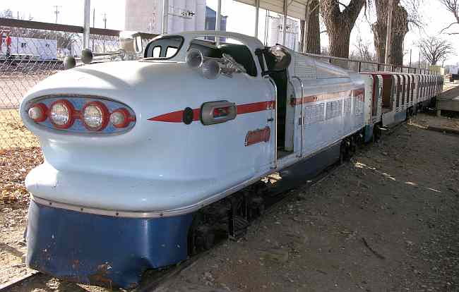 General Motors Aero Streamliner at the Ellis Railroad Museum