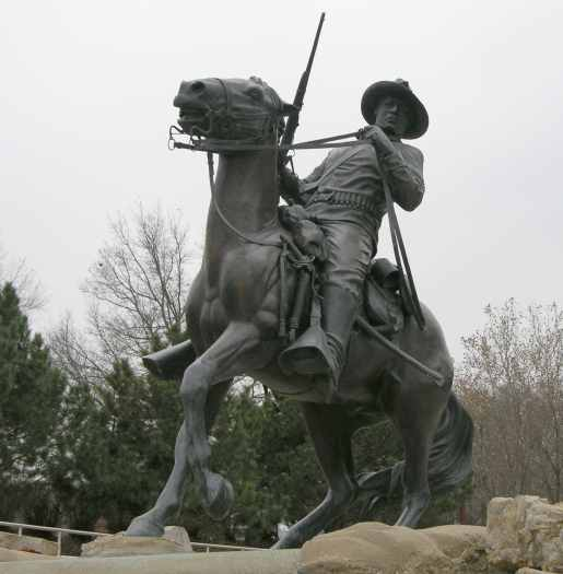 Buffalo Soldier Monument at Fort Leavenworth, Kansas
