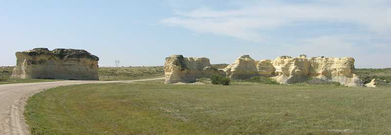 Little Chalk Pyramids of Kansas