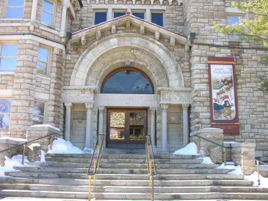 University of Kansas Natural History Museum in Lawrence, Kansas