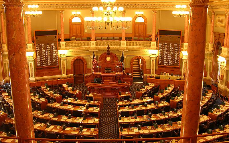 Kansas House of Representatives Chamber