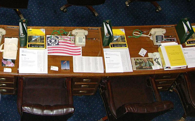 House of Representatives desks - Kansas