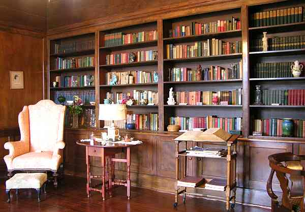 Brown Mansion library