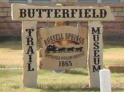 Butterfield Trail Museum - Russell Srpings, Kansas