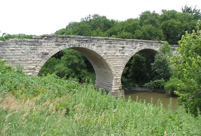 Clements double arch bridge