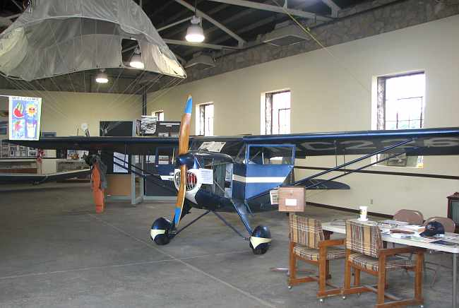 Funk Model B at Coffeyville Aviation Heritage Museum