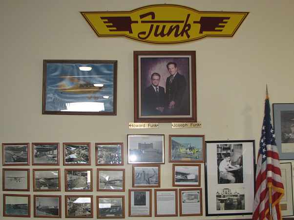 Funk Aircraft display at Coffeyville Aviation Heritage Museum