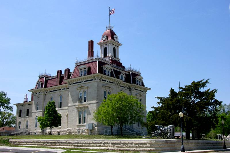 Chase County Courthouse - Cottonwood Falls, Kansas