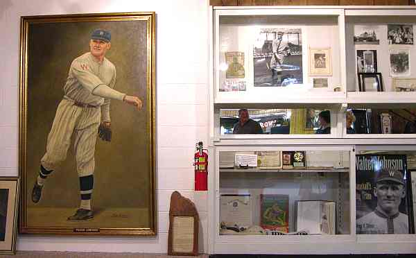 Walter Johnson exhibit