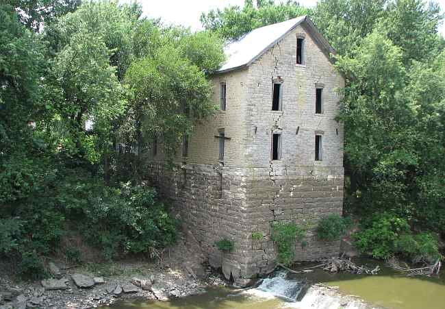 Drinkwater and Schriver Flour Mill