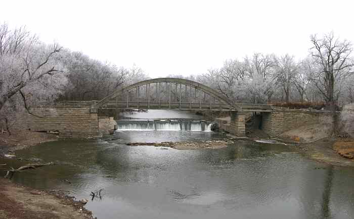 Emporia's Marsh Arch Bridge