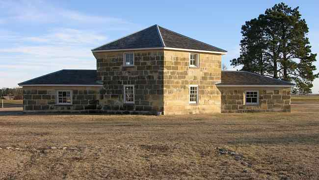 Fort Hays blockhouse