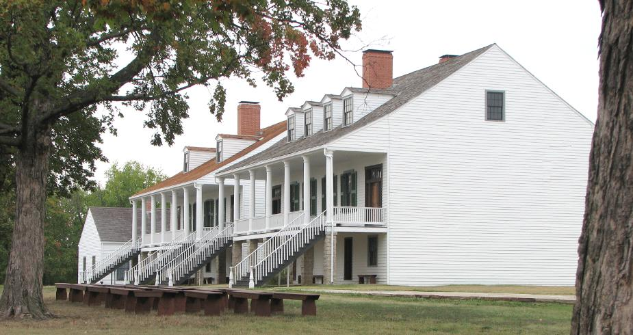 Fort Scott Post Headquarters and officers quarters