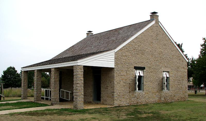 Fort Scott guardhouse