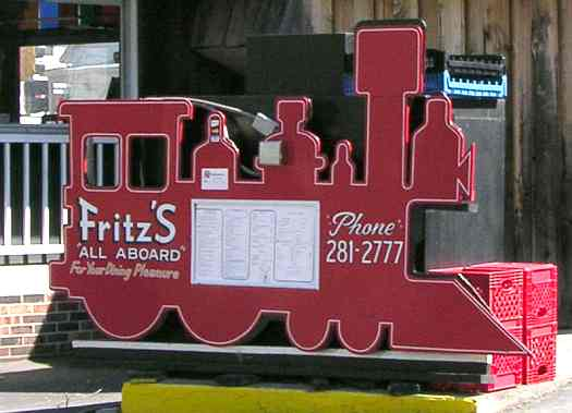 Fritz's Railroad Restaurant - Kansas City, Kansas