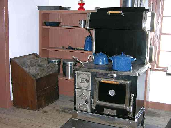 Hollenberg Pony Express Station kitchen