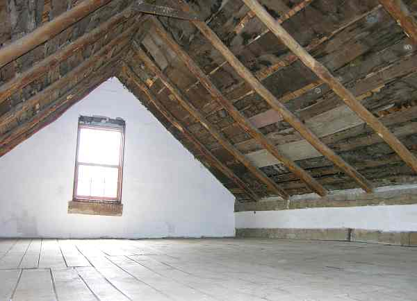 Hollenberg Pony Express Station attic