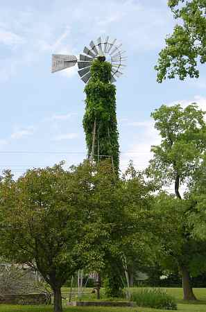 Old Jefferson Town windmill
