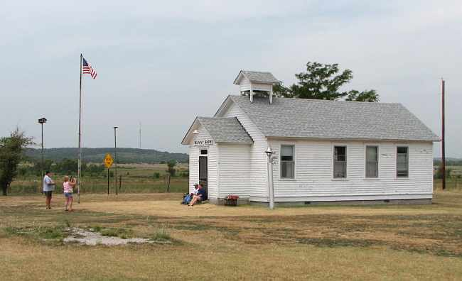 Sunnyside School at Little House on the Prarie site