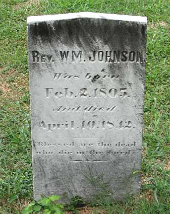 Rev William Johnson