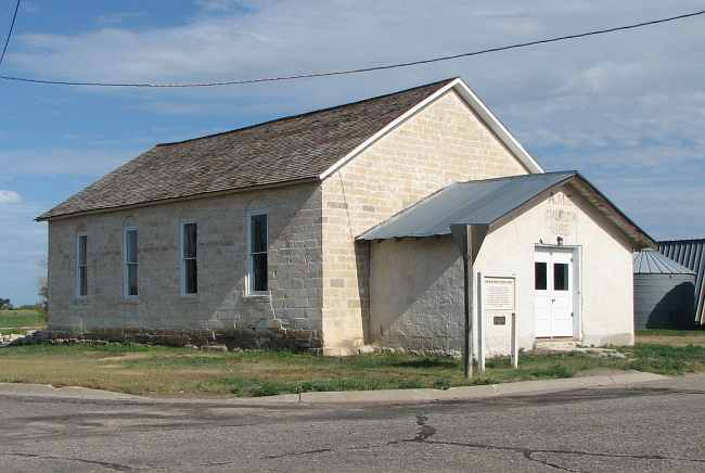 African Methodist Episcopal Church, Nicodemus, Kansas