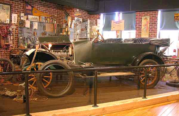 Jones Six automobile