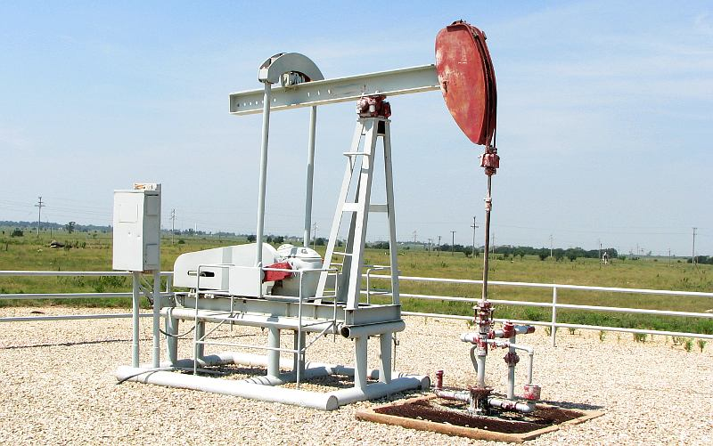 Sapleton Number One Oil Well
