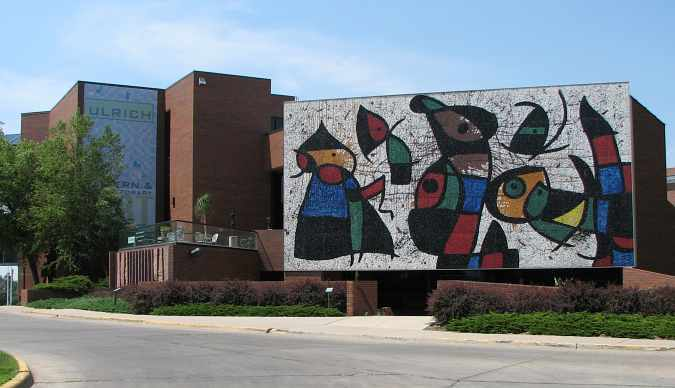 Ulrich Museum of Art - Wichita State University.
