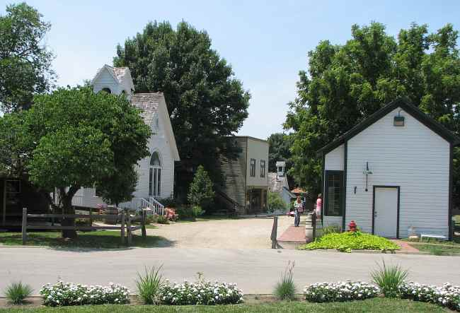Old Prairie Town at Ward-Meade Park