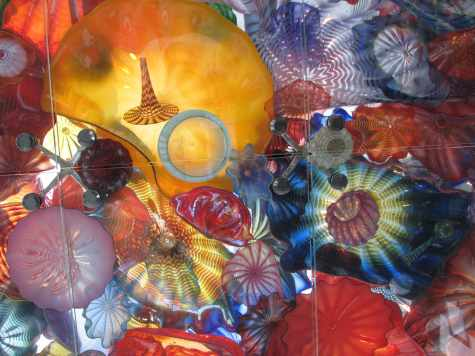 Dale Chihuly art glass at Wichita Art Museum