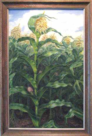 Kansas Cornfield by John Steuart Curry