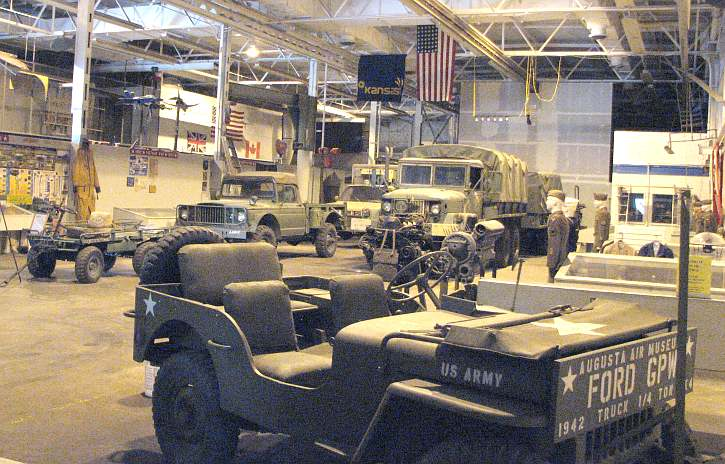 Kansas Museum of Military History main hall