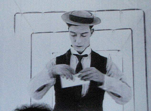 Buster Keaton in The Love Nest