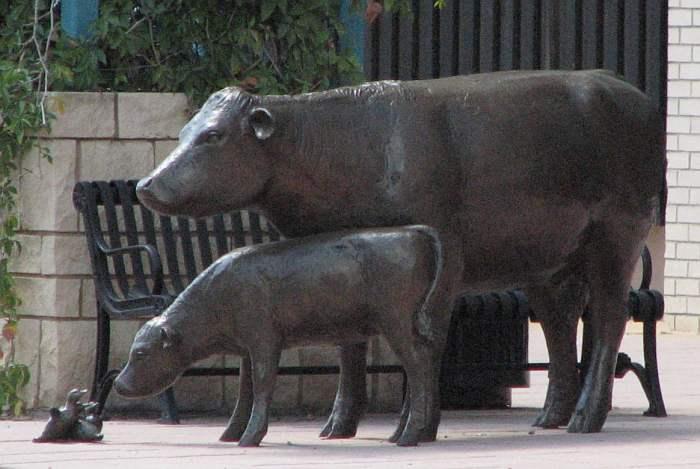 Georgia Gerber bronze statues