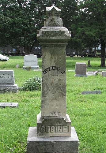 Grave of Dalton Defender - George Cubine