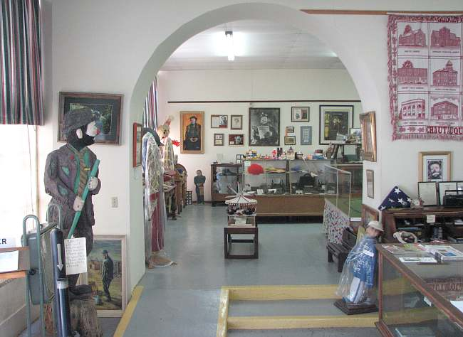 Emmett Kelly Museum interior