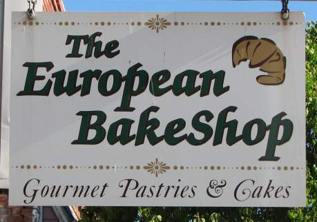 The European BakeShop - gourmet pastries and cakes