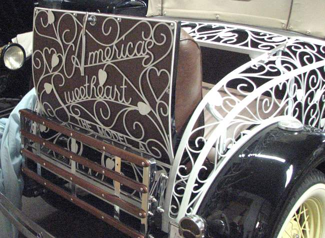 America's Sweetheart - Model A rumble seat