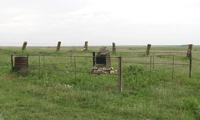 Site of the George Washington Carver homestead in Beeler, Kansas.