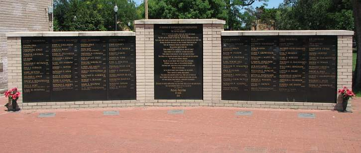 Kansas firefighters memorial wall of honor