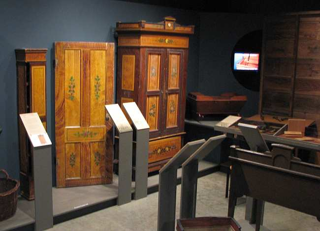 Mennonite immigrant furniture