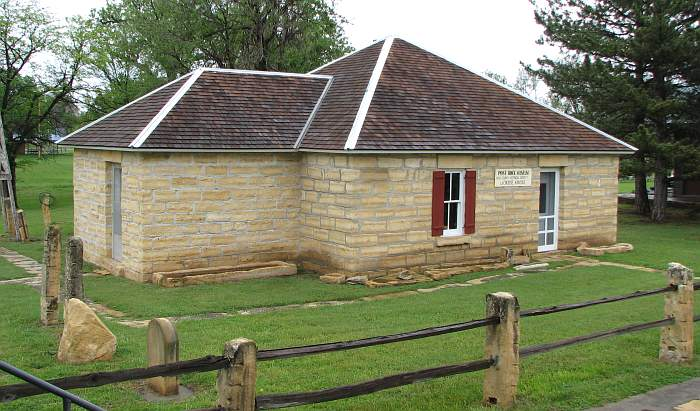 Post Rock Museum - native stone building