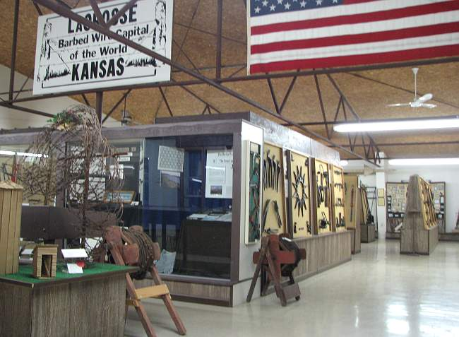 Kansas Barbed Wire Museum