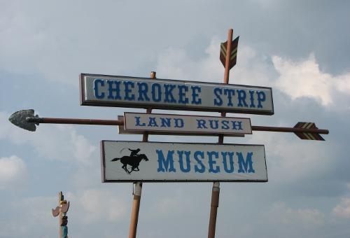 Cherokee Strip Land Rush Museum - Arkansas City, Kansas