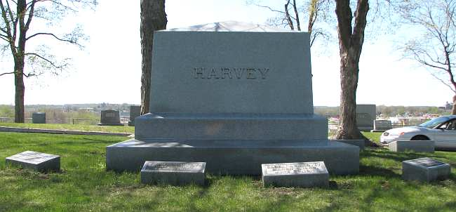 Harvey family monument