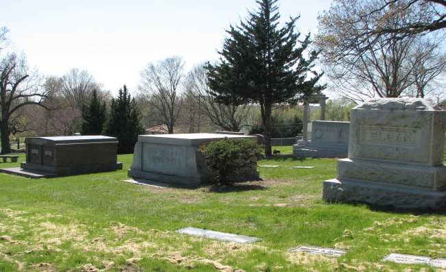 Dadiani tomb at Mount Muncie Cemetery